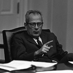 """Headshot of W. Willard """"Bill"""" Wirtz Jr."""