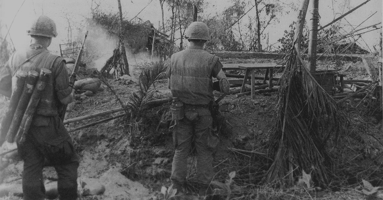 US soldiers during Tet Offensive