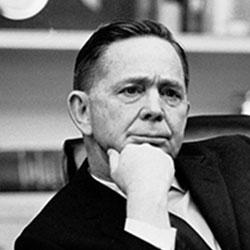 Headshot of Carl B. Albert