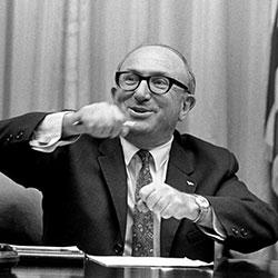 Headshot of Wilbur J. Cohen