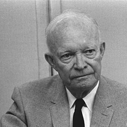 Headshot of Dwight D. Eisenhower