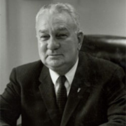 "Headshot of Charles A. ""Charlie"" Halleck"