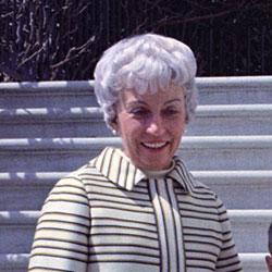 Headshot of Muriel Fay Humphrey