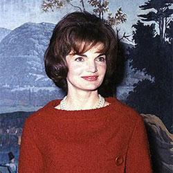 """Headshot of Jacqueline B. """"Jackie"""" Kennedy"""