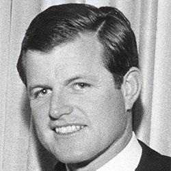 """Headshot of Edward M. """"Teddy"""" Kennedy"""