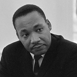 Headshot of Martin Luther King Jr.