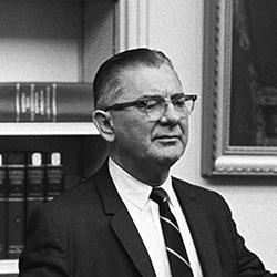 Headshot of Wilbur D. Mills