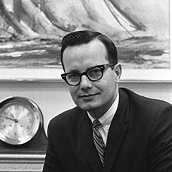 Headshot of Bill Moyers