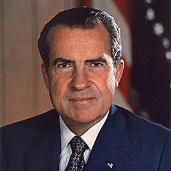 Headshot of Richard M. Nixon