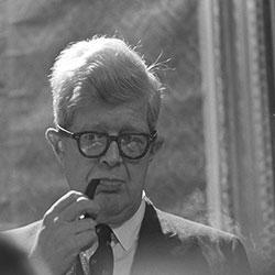 Headshot of George E. Reedy